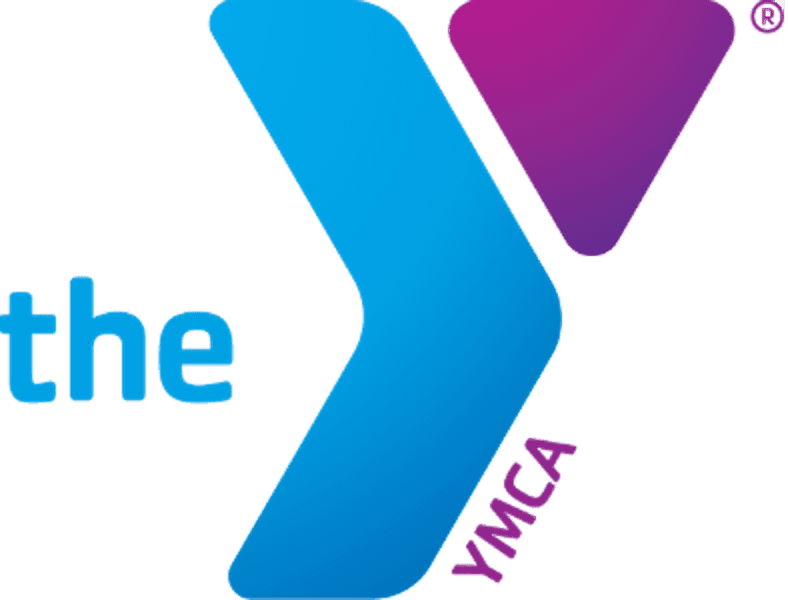 Purple and Blue YMCA Logo
